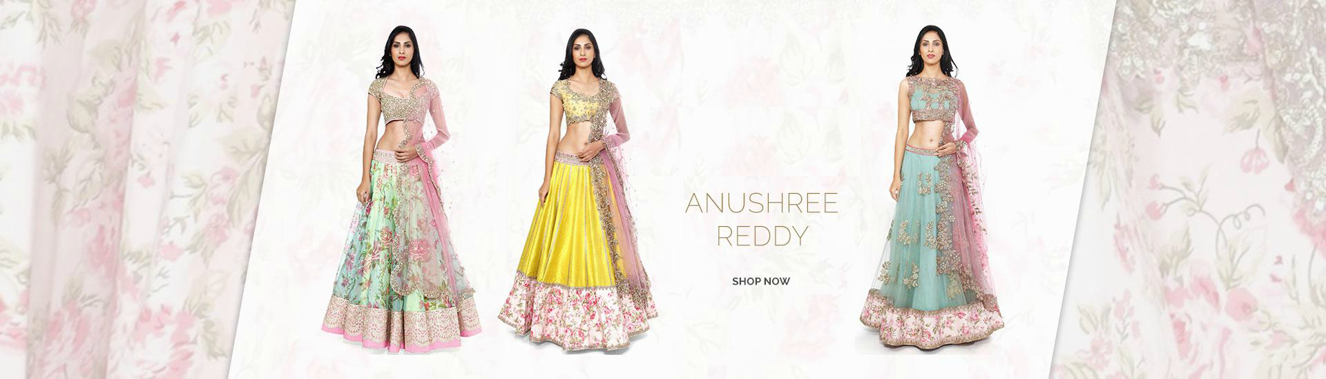 Anushree Reddy Designer Clothing